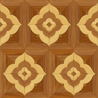 方形木纹拼花