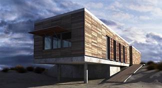 现代艺术别墅