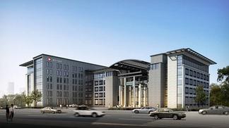黑河中医院建筑