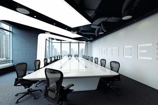 宽敞会议室