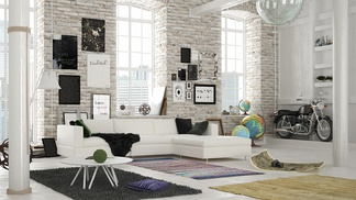 LOFT现代客厅