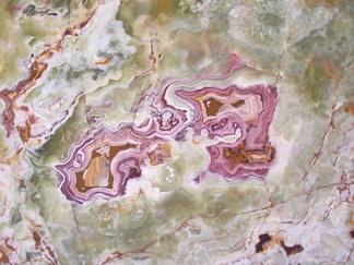 彩色大理石