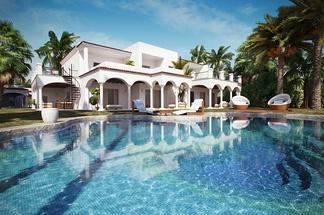 游泳池独栋别墅
