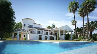 地中海别墅带泳池