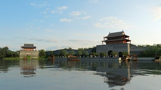 中式城门古建