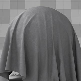 第一季_写实深灰色反皮布料