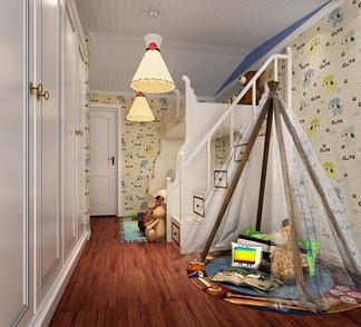 帐篷儿童房