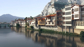 中式现代乡村民族风格建筑