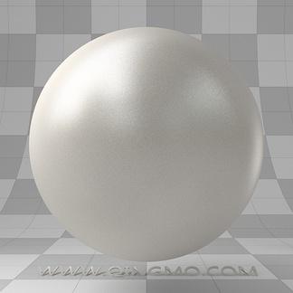 纯白哑光塑料家具