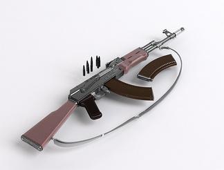 AK47机枪