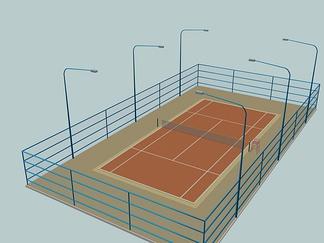 球场-网球场