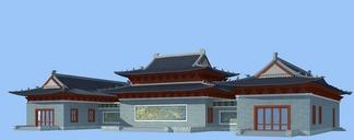 ZKH#中式古建筑(古建3)古建筑30804 风格建筑 古建 49