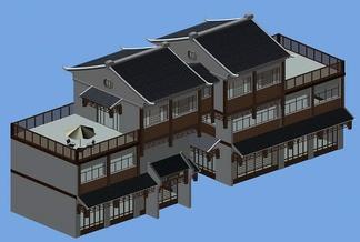 ZKH#中式古建筑(古建3)古建筑30804 风格建筑 古建 67
