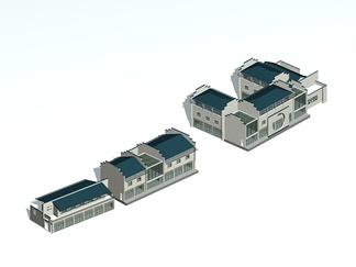 ZKH#中式古建筑(古建3)古建筑30804 风格建筑 古建 74