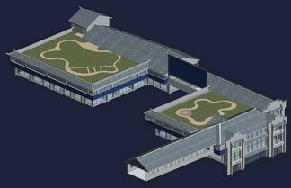 ZKH#中式古建筑(古建3)古建筑30804 风格建筑 古建 13