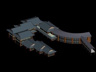 ZKH#中式古建筑(古建3)古建筑30804 风格建筑 古建 55
