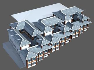 ZKH#中式古建筑(古建3)古建筑30804 风格建筑 古建 10