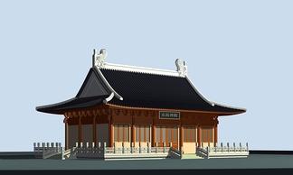 ZKH#中式古建筑(古建3)古建筑30804 风格建筑 古建 48