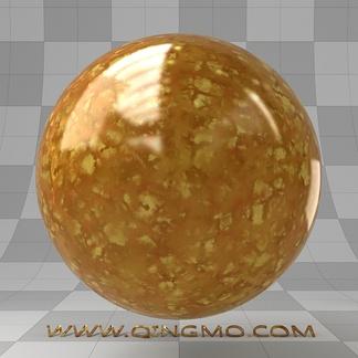 黄琥珀宝石