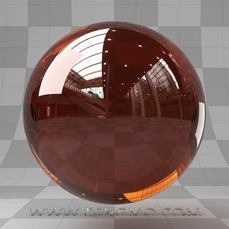 梦幻深棕橙宝石