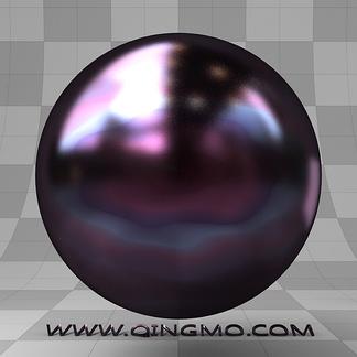 樱桃石;黑紫宝石