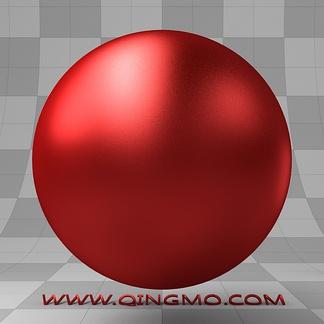 红宝石色固体