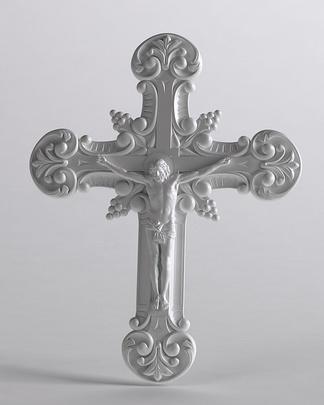 挂饰耶稣十字架雕塑