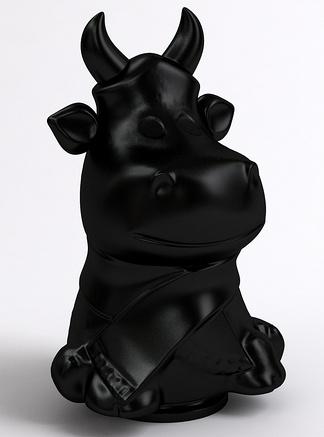 动物雕塑牛