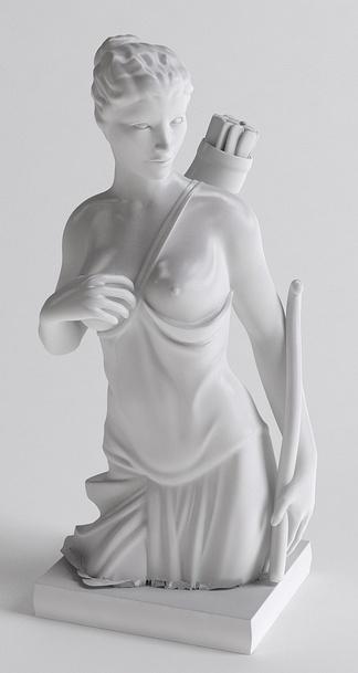 欧式半身雕塑