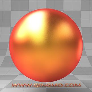 光谱红黄铜