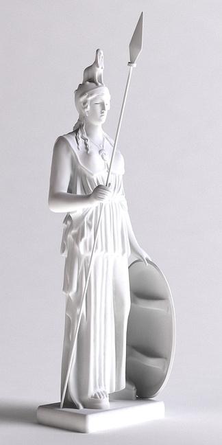 西方神话士兵人物雕塑