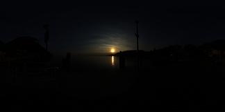 室外黄昏HDR