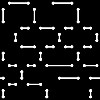 黑白模压线形结构