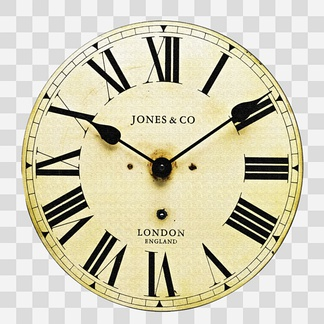 欧美钟表贴图壁画