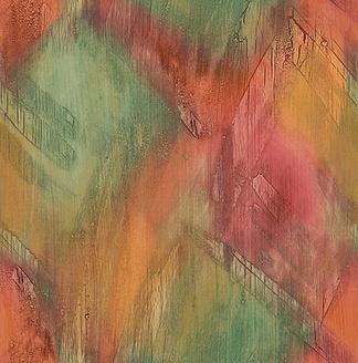 现代时尚咖啡竖条壁纸浅色