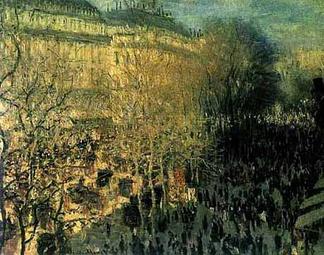 莫奈鲁昂大教堂壁画