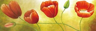 风景花卉壁画