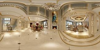 客厅空间新中式风格