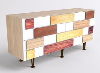 中式实木柜
