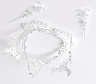 欧式拱形雕花