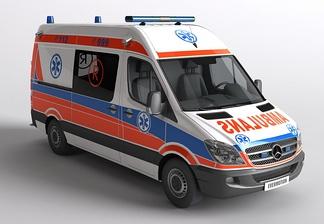 大型车医疗车