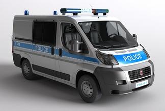 大型车警车