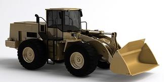 机械车推土车