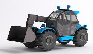 机械车运货车推土机挖掘机