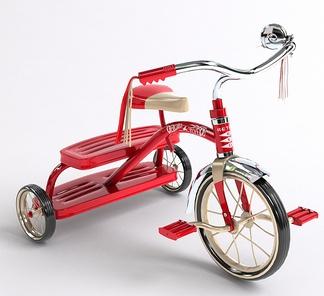 儿童三轮自行车