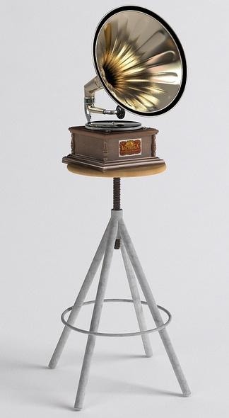 老式留声机