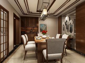 餐厅空间  新中式风格