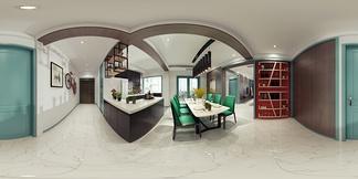 餐厅空间新中式风格