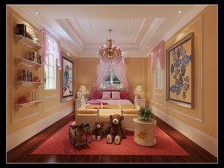 卧室空间  欧式风格