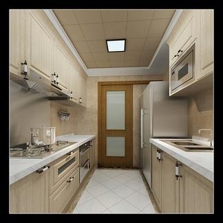 厨房空间  现代风格